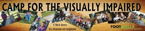 Camp for the Visually Impaired
